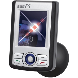 New BURY Install Bluetooth Car Kit W/color LCD display