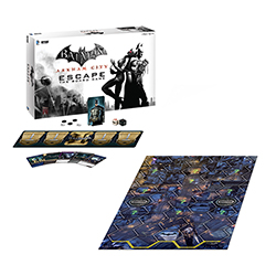 Toy - Board Game - Batman: Arkham City Escape (DC Universe)