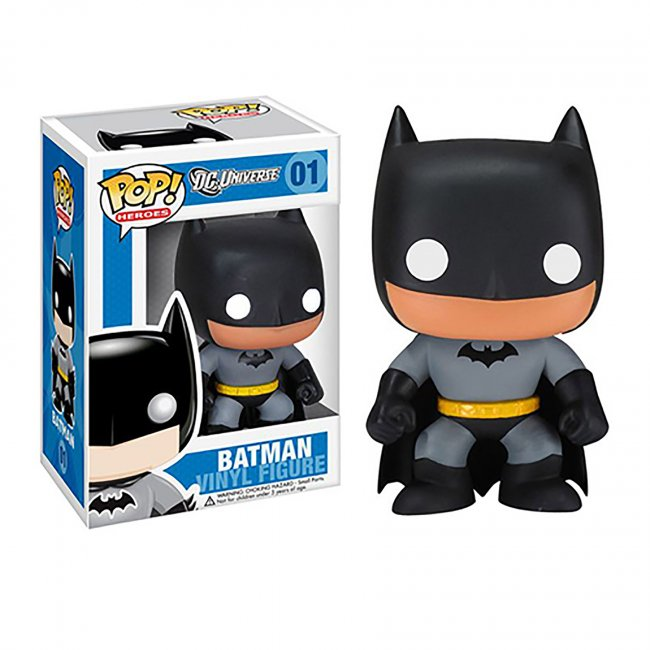 Toy - POP - Vinyl Figure - Heroes - Black Batman (DC Universe)