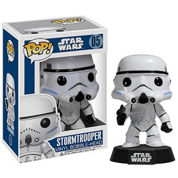 Toy - POP - Vinyl Bobble Figure - Star Wars - Series 1 - Stormtrooper (Star Wars)