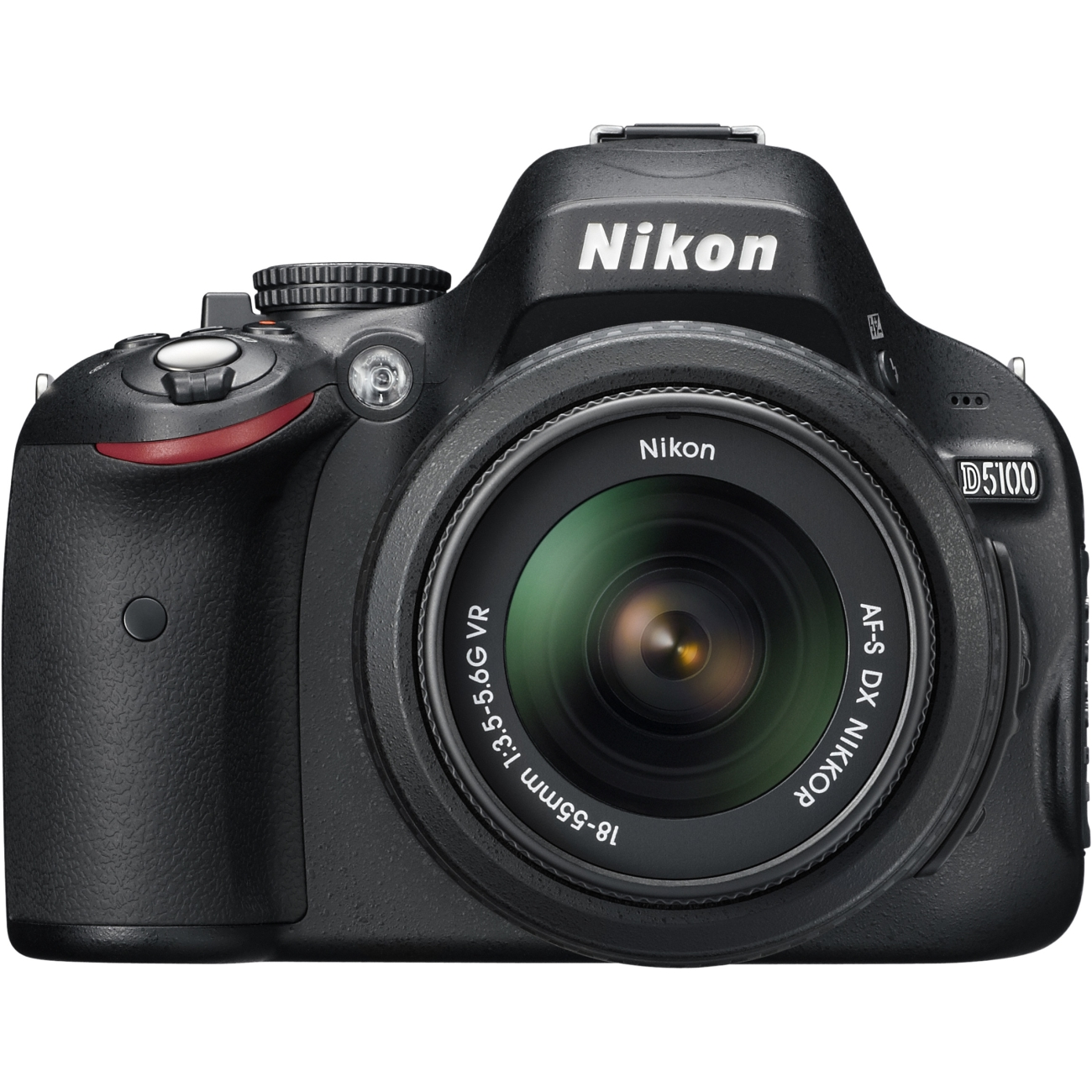 "Nikon D5100 16.2MP Digital SLR Camera (Body with Lens Kit) 3"""" LCD - 3.1x Optical Zoom - 25478"