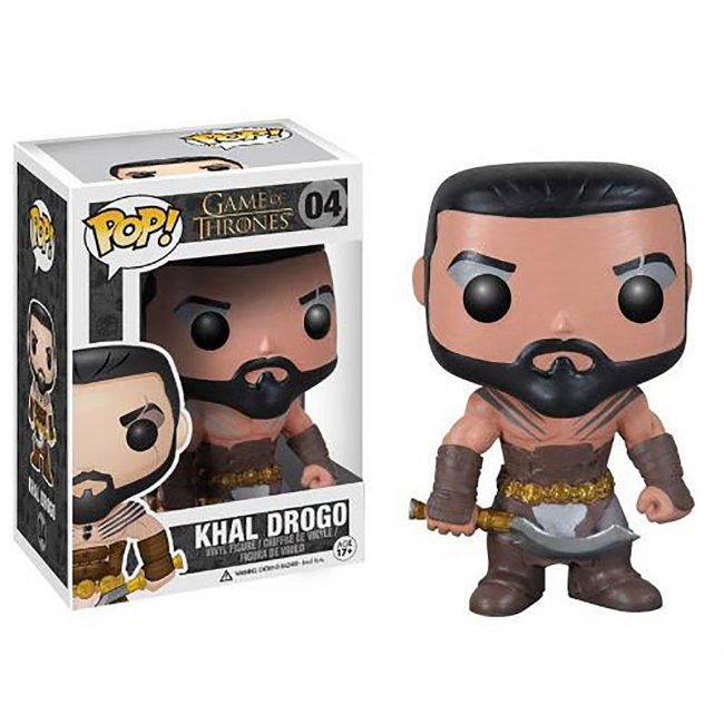 Funko - Game of Thrones  Series 1 Khal Drogo Vinyl Figure