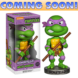 Toy - Teenage Mutant Ninja Turtles - Wacky Wobbler - Donatello