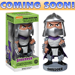 Toy - Teenage Mutant Ninja Turtles - Wacky Wobbler - Shredder