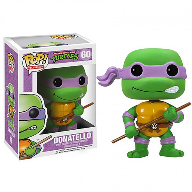 Toy - POP - Vinyl Figure - Teenage Mutant Ninja Turtles - Donatello