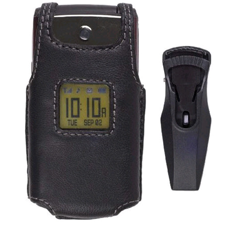 Wireless Solutions Leather Case For Samsung SPH-M320