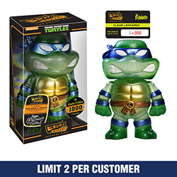 Toy - Hikari - Sofubi Vinyl Figure - Teenage Mutant Ninja Turtles - Clear Leonardo - Limited Edition