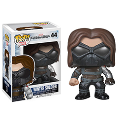 Toy - POP - Vinyl Figure - Captain America: The Winter Soldier - Winter Soldier Masked (Marvel)