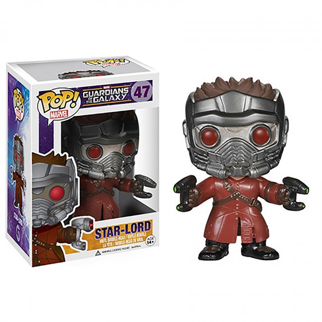 Toy - POP - Vinyl Bobble Figure - Guardians of the Galaxy - Star-Lord (Marvel)