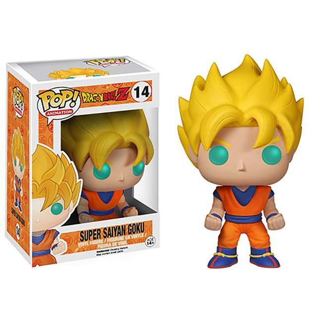 Funko POP! Anime: Dragonball Z Super Saiyan Goku Action Figure