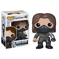 Toy - POP - Vinyl Figure - Captain America: The Winter Soldier - Winter Soldier Unmasked (Marvel)