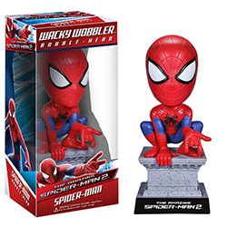 Toy - The Amazing Spider-Man 2 - Wacky Wobbler - Spider-Man (Marvel)