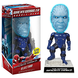 Toy - The Amazing Spider-Man 2 - Wacky Wobbler - Electro (Glows in the Dark) (Marvel)