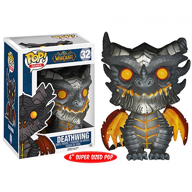 Toy - Over Sized POP - Vinyl Figure - World Of Warcraft - Deathwing
