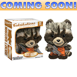 Toy - Guardians Of The Galaxy - Fabrikations Plush - Rocket Raccoon (Marvel)