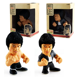 Toy - Bruce Lee - Titans - Collectible Figure - 8 pack (4 Scratches Bruce and 4 Kung Fu Bruce)