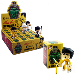 Toy - Bruce Lee - Blind Box Figures - Series 1 - Temple of Kung Fu - 20 pieces (1 box of 20)