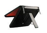 Sena Azra Cerniera Leather Case for Apple iPad 4, iPad 3, iPad 2 (Black)