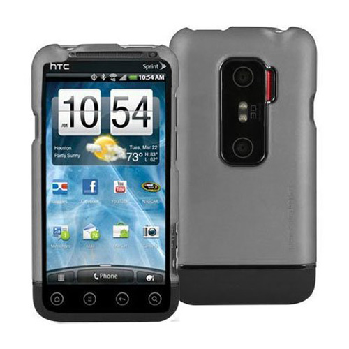 Body Glove Icon Case for HTC Evo 3D - Gray/Black