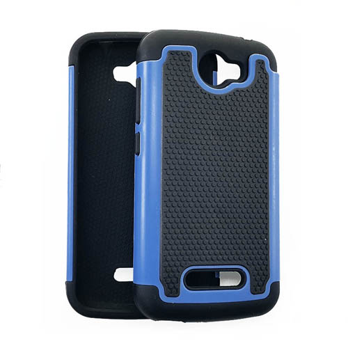 2 in 1 Case, Black & Blue.