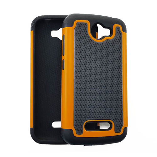 2 in 1 Case, Black & Orange.
