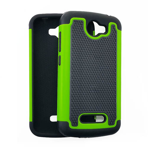 2 in 1 Case, Black & Green.