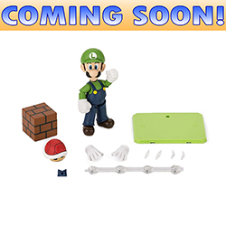 Toy - Super Mario - Action Figure - Super Mario Bros. Action Figure - Luigi
