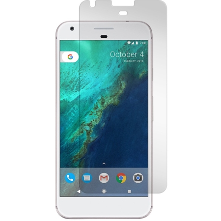 Gadget Guard Tempered Glass Screen Guard for Google Pixel Black Ice+ edition
