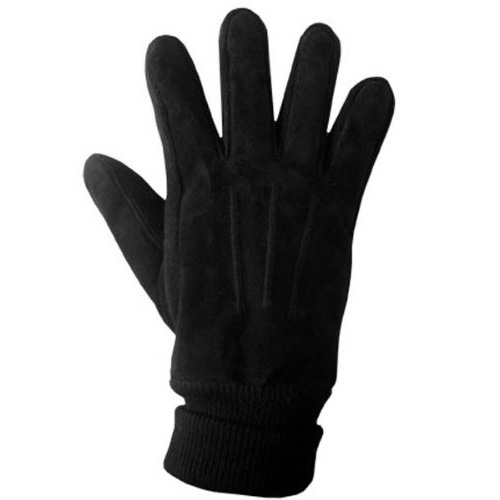 Boss Tech Men's Warm Winter Touch Screen Gloves / Texting Gloves with Conductive Fingertips for All Touch Screen (Black)