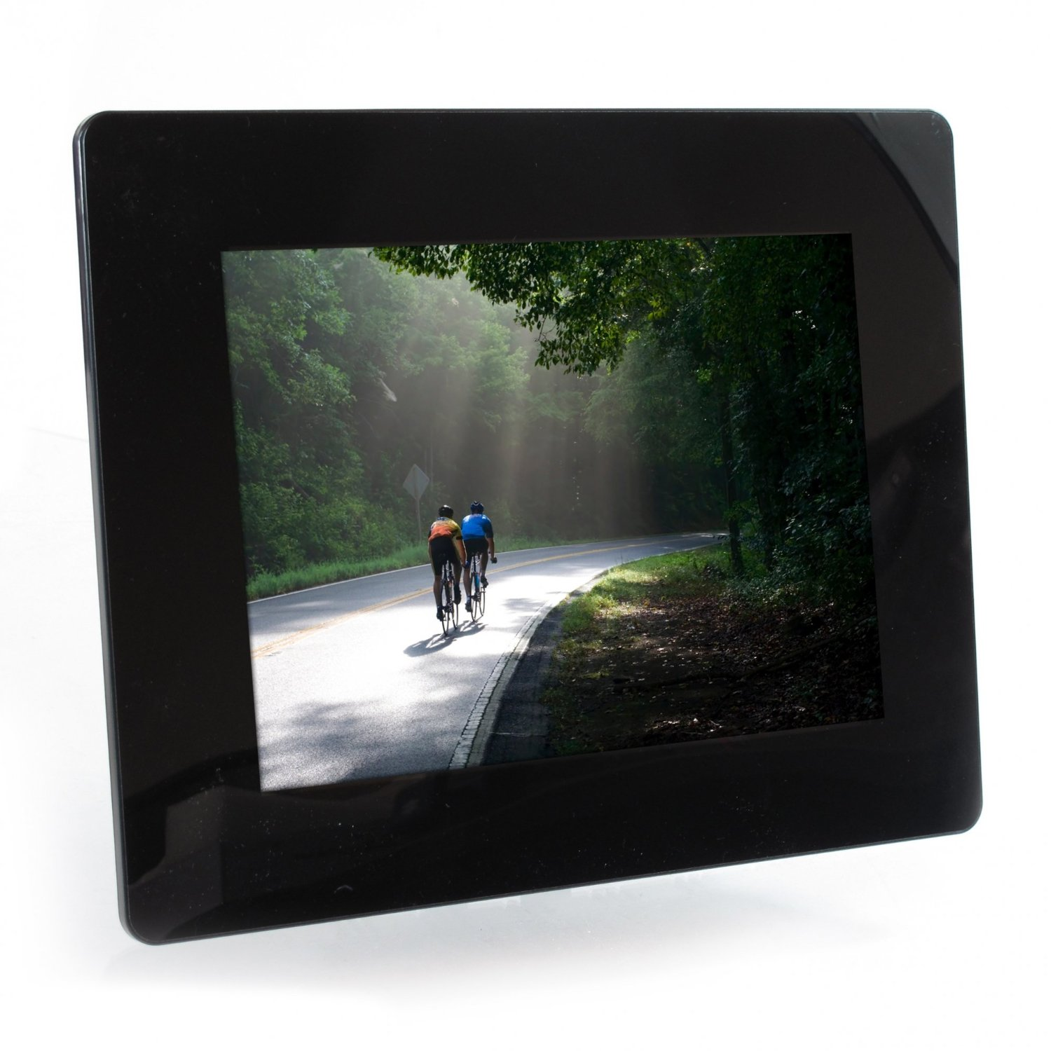 10.4-Inch 800x600 Digital Photo Frame with 2GB Internal Memory - (DFM1043) -