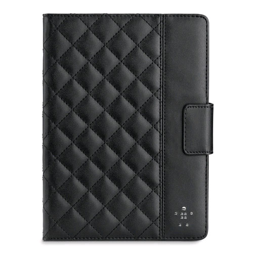 Belkin Quilted Cover with Stand for Apple iPad Air (Blacktop)