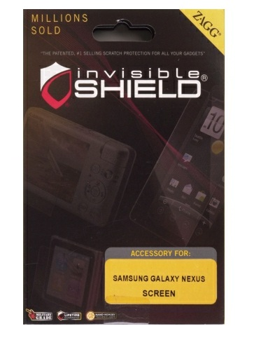 Zagg - invisibleSHIELD Screen Protector for Samsung Galaxy Nexus - Full Body