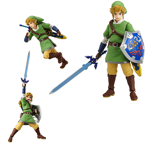 Toy - Figma - Vinyl Figure - Link The Legend of Zelda - Skyward Sword Figure