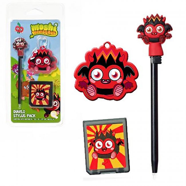 Mind Candy - Moshi Monsters Dialvo 3 in 1 Stylus Pen Set for DS