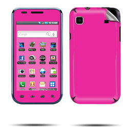 Wireless Inc. Mobile Rubberized Skin for Samsung T959 Vibrant - Hot Pink