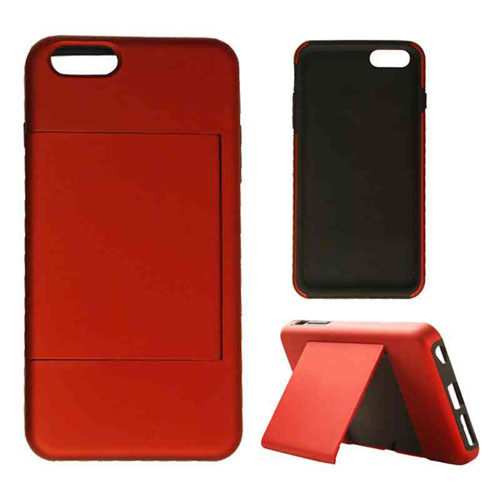 2 in 1 Case, Agate Red w/Stand.