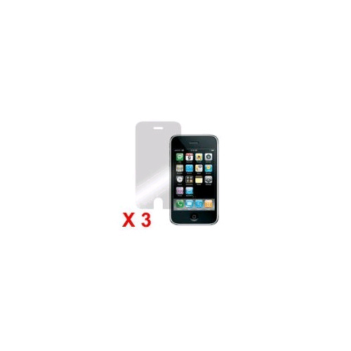 (3 Pack) Screen Protector for Apple iPhone 3G/3GS IPH3G-SP-3PK