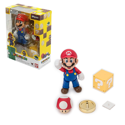 Toy - Super Mario - Action Figure - Super Mario Bros. Action Figure - Mario