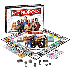 Toy - Board Game - The Big Bang Theory - Monopoly