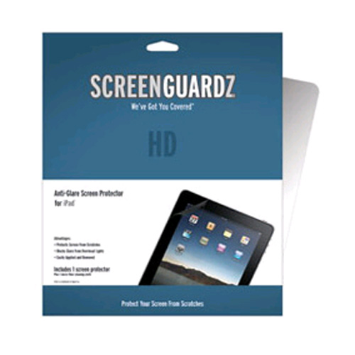 ScreenGuardz HD Anti-Glare Screen Protector for Apple iPad - Clear