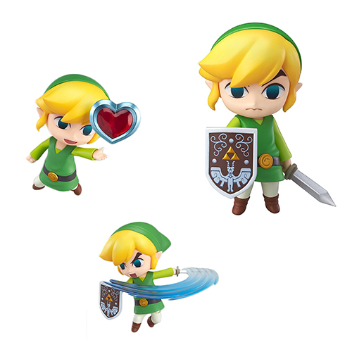 Toy - Nendoroid - Vinyl Figure - The Legend of Zelda - Wind Waker HD Figure