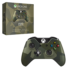 Xbox One - Controller - Wireless - Armed Forces - Limited Edition (Microsoft)