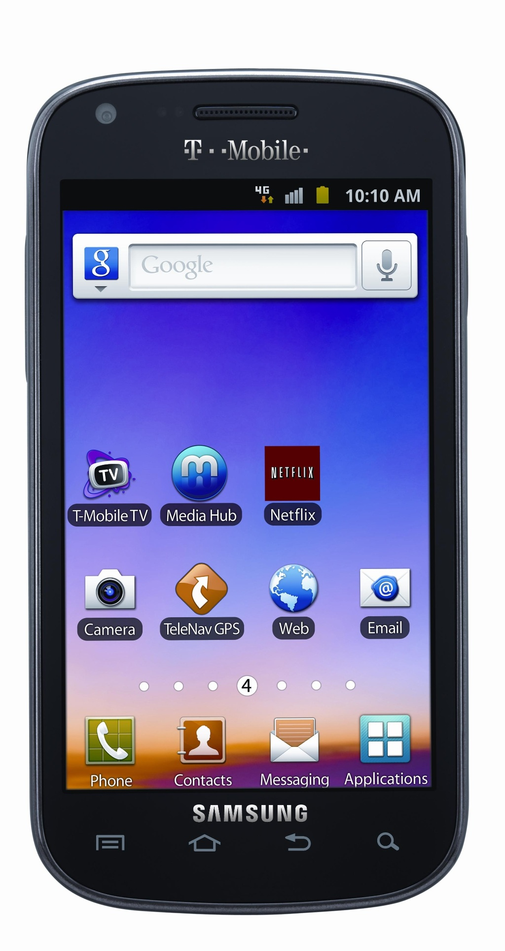 Samsung Galaxy S Blaze 4G T769 Unlocked GSM Android Cellphone (Black) - PSR300259