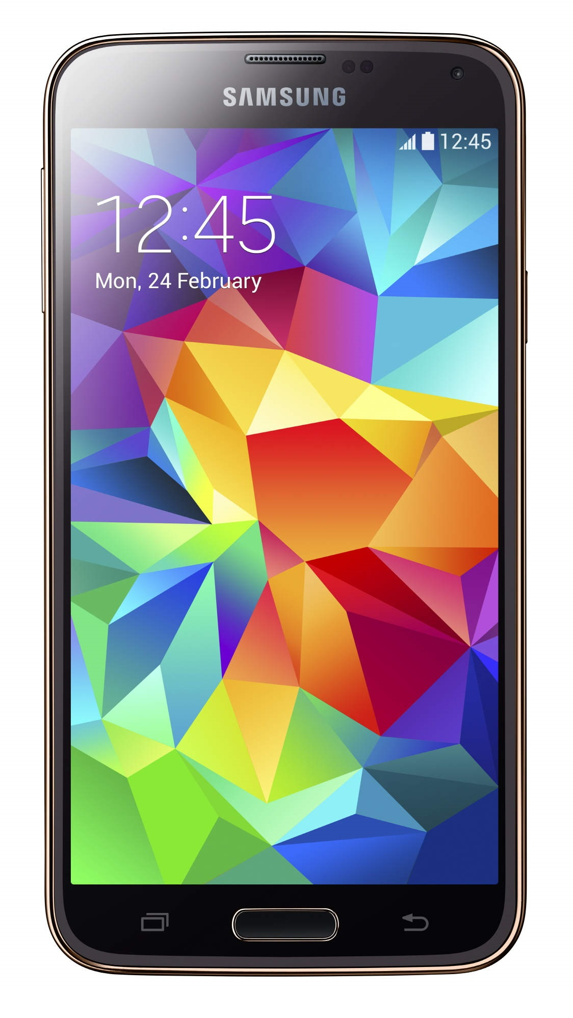 Samsung Galaxy S5 G900H 16GB Unlocked GSM Octa-Core Android Phone - Gold