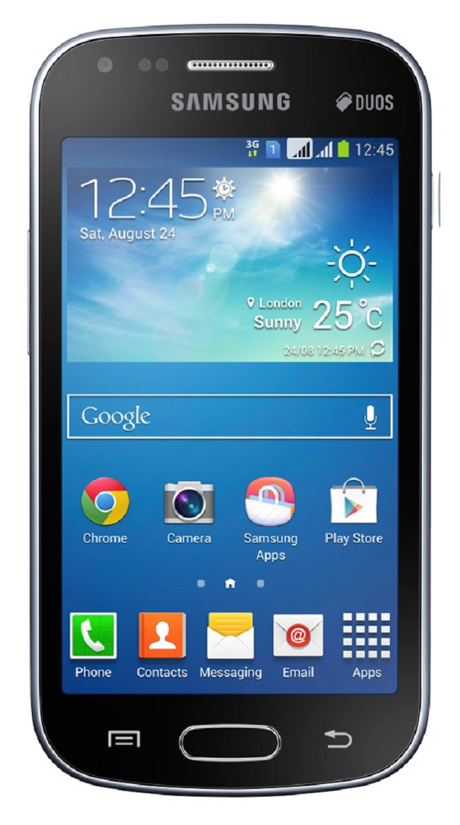 Samsung Galaxy S DUOS 2 S7582 Unlocked GSM Dual-SIM Android Phone (Black) - PSR300407