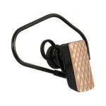 Wireless Xcessories PULSE Premium Bluetooth Headset (Gold)