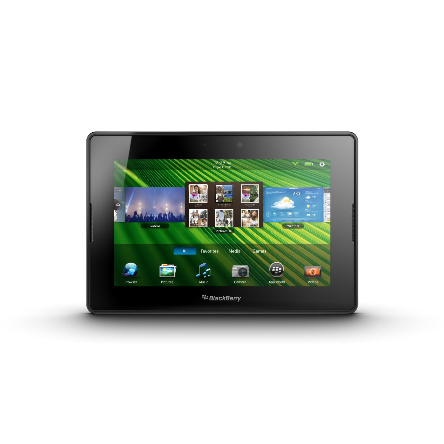 Blackberry Playbook 7-Inch Dual-Core 1GHz Capacitive Touchscreen Tablet (64GB)