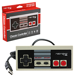 PC - Controller - Wired - NES Style - USB Controller for PC & Mac - Retail Package (Retrolink)