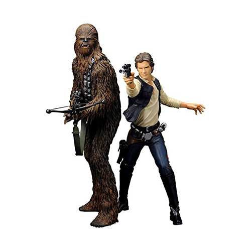 Toy - Kotobukiya - Action Figure - Star Wars - Han Solo and Chewbacca Figure