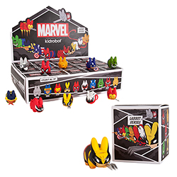 Kidrobot - Marvel Labbit Series 2 20 Piece CDU Blind Box Set Mini Figures